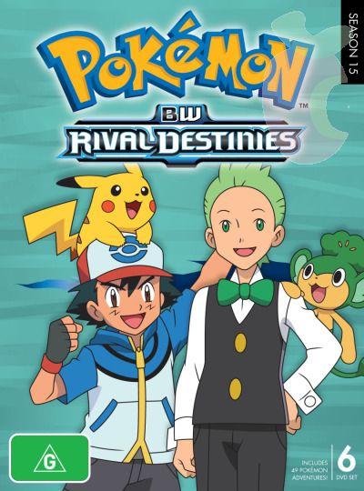 >Pokemon โปเกม่อนภาคปี 15 Black and White Rival Destinies