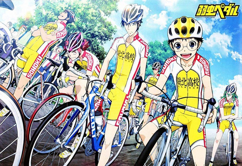 >โอตาคุน่องเหล็ก Yowamushi Pedal ภาค 1-2-3-4 รวมทุกภาค ซับไทย