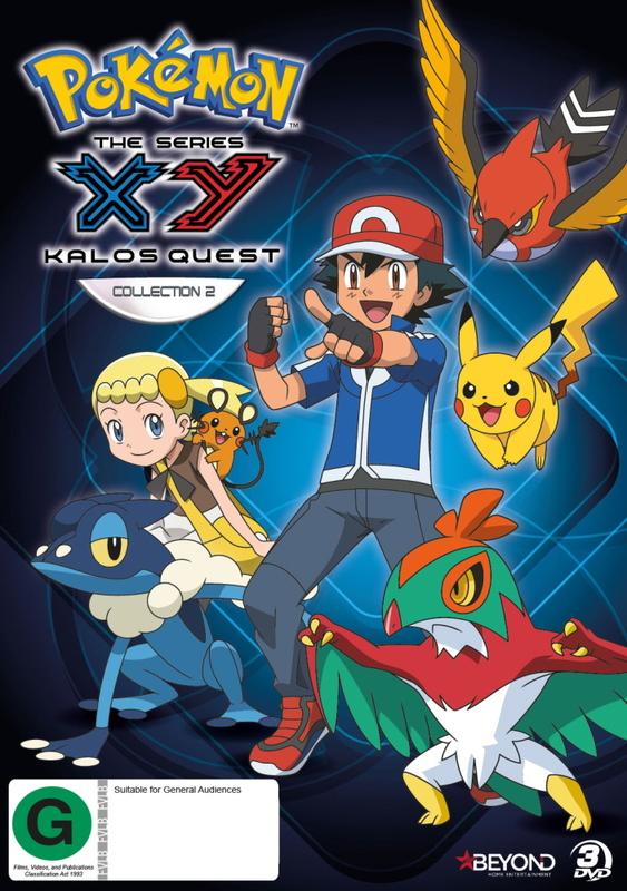 >Pokemon โปเกม่อน XY2 ภาคปี 18 Kalos Quest