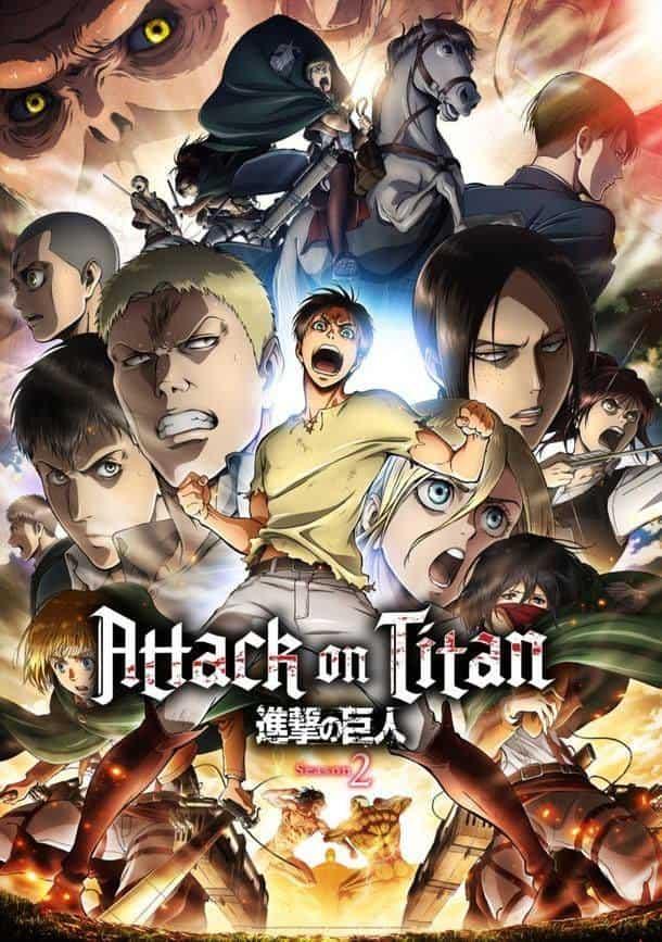 >Attack on Titan Season 2 ผ่าพิภพไททัน ภาค2 ตอนที่ 1-12 ซับไทย