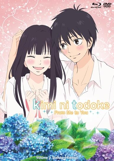 >Kimi ni Todoke ฝากใจไปถึงเธอ อนิเมะรักโรแมนติก พระเอกหล่อ มี 2 ภาค
