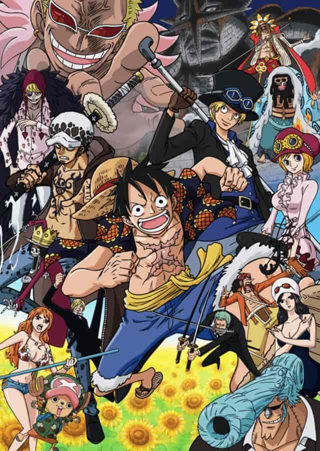 >วันพีช One Piece ภาค 17 เดรสโรซ่า ตอนที่ 629-746 พากย์ไทย
