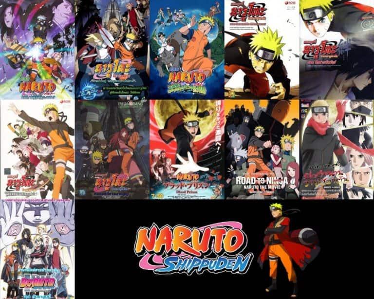 >Naruto The Movie นารูโตะ เดอะมูฟวี่ 1-11 ทุกภาค พากย์ไทย HD