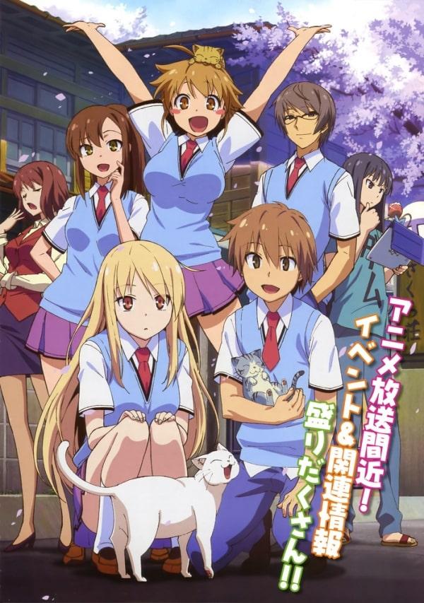 >Sakurasou no Pet na Kanojo ซากุระโซว หอพักสร้างฝัน ตอนที่ 1-24+OVA พากย์ไทย