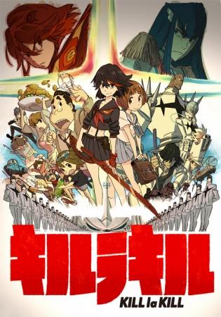 >Kill La Kill คิลลาคิล ตอนที่ 1-24+OVA ซับไทย