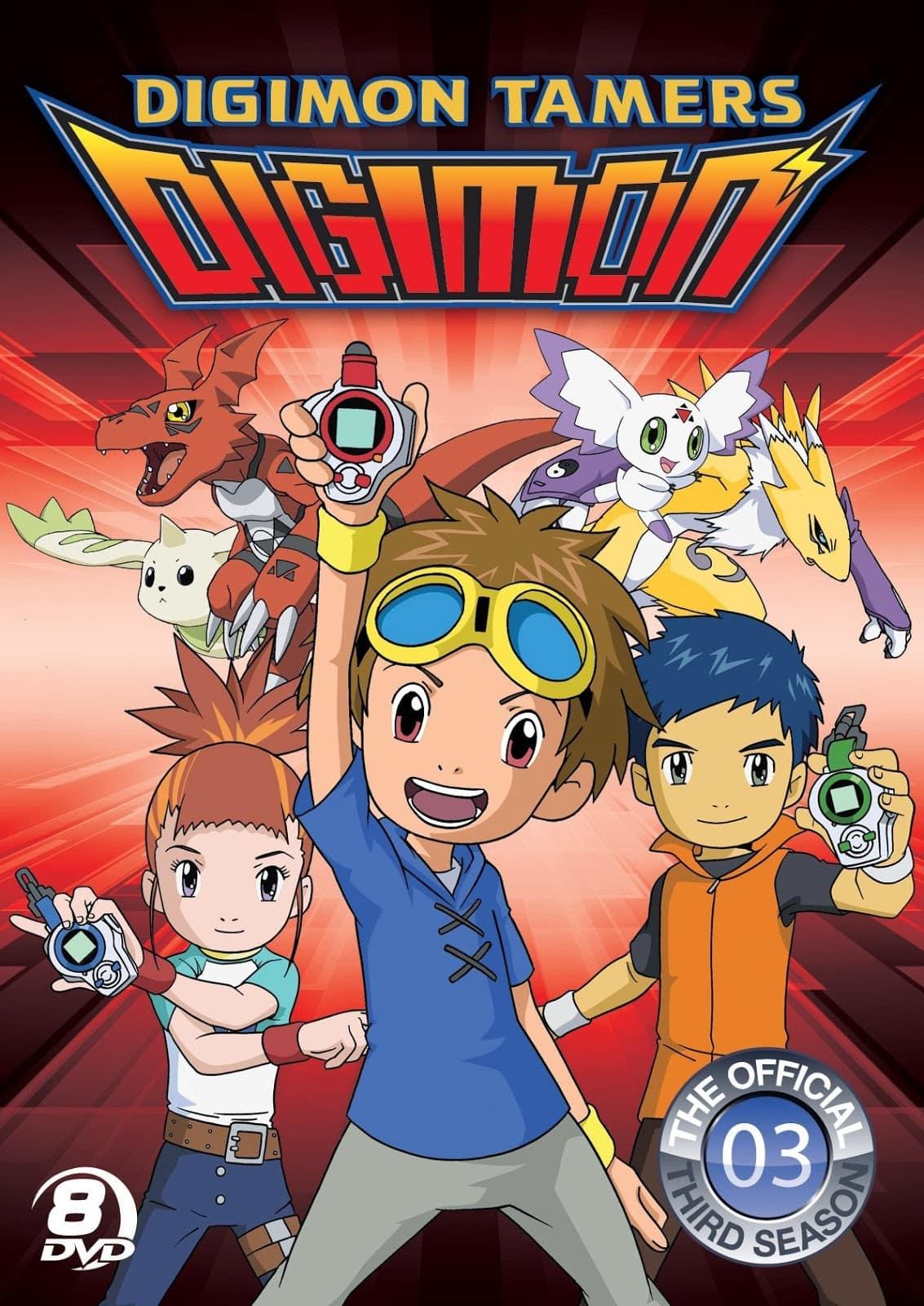 >Digimon Tamers ดิจิมอนเทมเมอร์ส ตอนที่ 1-51 พากย์ไทย