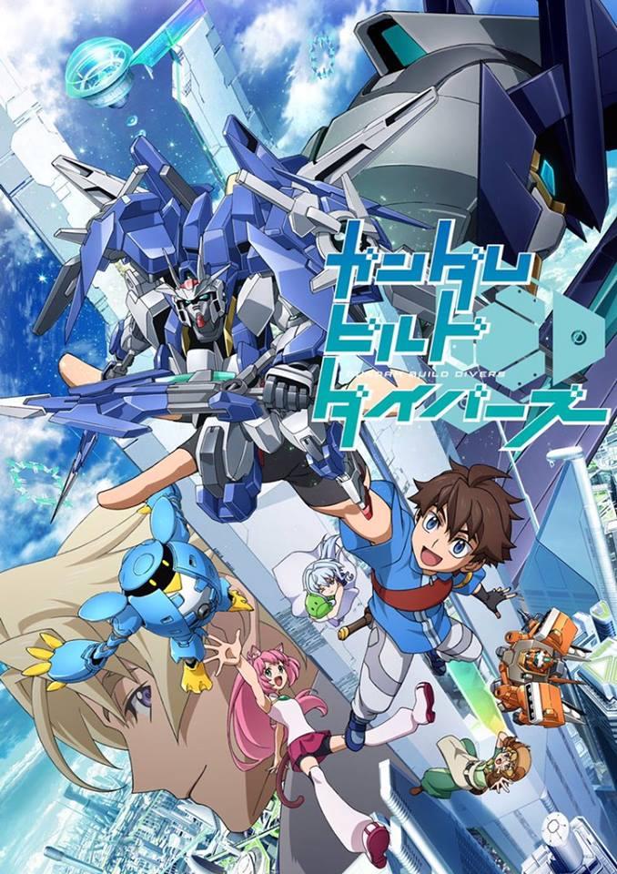 >Gundam Build Divers กันดั้มบิลไดรเวอร์ ตอนที่ 1-25 ซับไทย