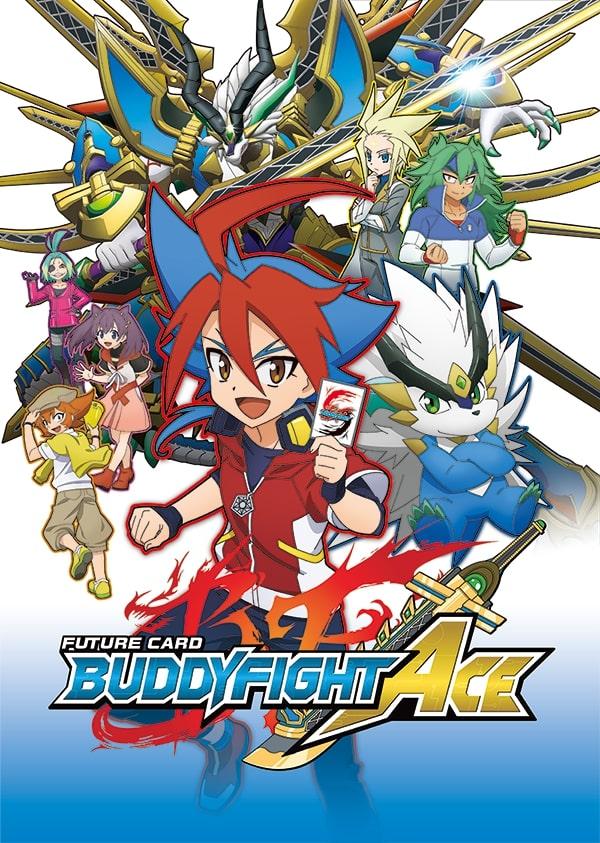 >Future Card Buddyfight Ace ฟิวเจอร์การ์ด ชิน บัดดี้ไฟท์ ตอนที่ 1-20 พากย์ไทย