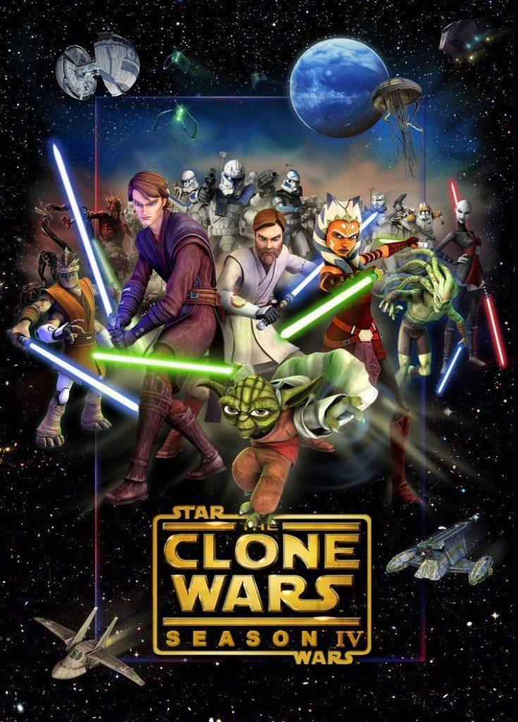 >Star Wars The Clones Wars 4 สตาร์ วอร์ส เดอะ โคลน วอร์ส ภาค4 ตอนที่ 1-22 พากย์ไทย